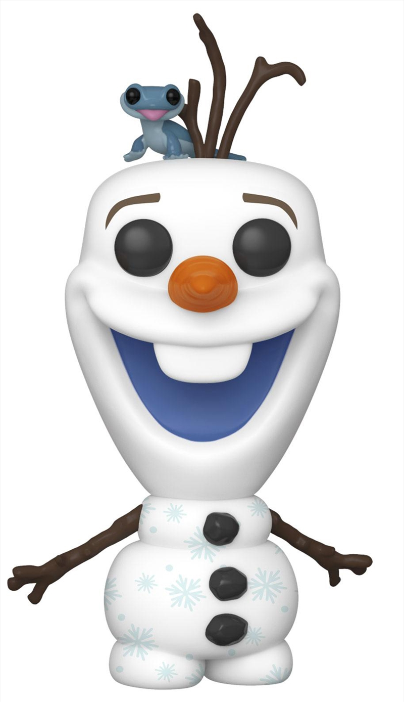 Frozen 2 - Olaf with Fire Salamander Pop! Vinyl | Pop Vinyl