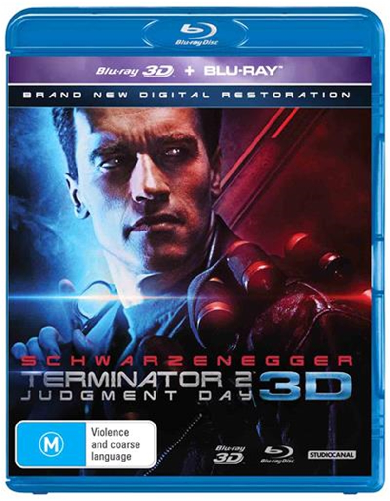 Terminator 2 - Judgment Day | 3D + 2D Blu-ray | Blu-ray 3D