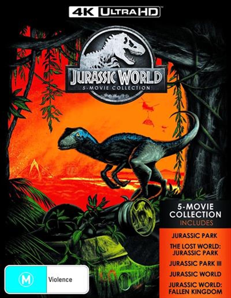 Jurassic Park / Jurassic Park - The Lost World / Jurassic Park III / Jurassic World / Jurassic World | UHD/BR