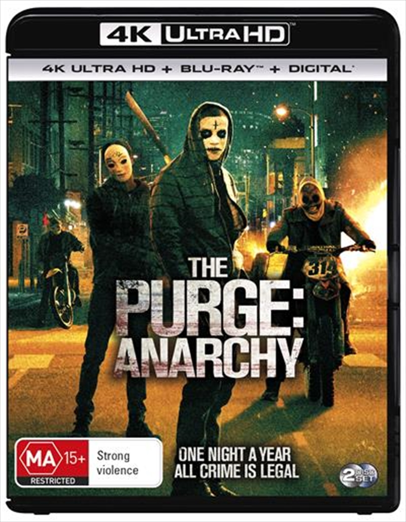 Purge - Anarchy | Blu-ray + UHD, The | UHD