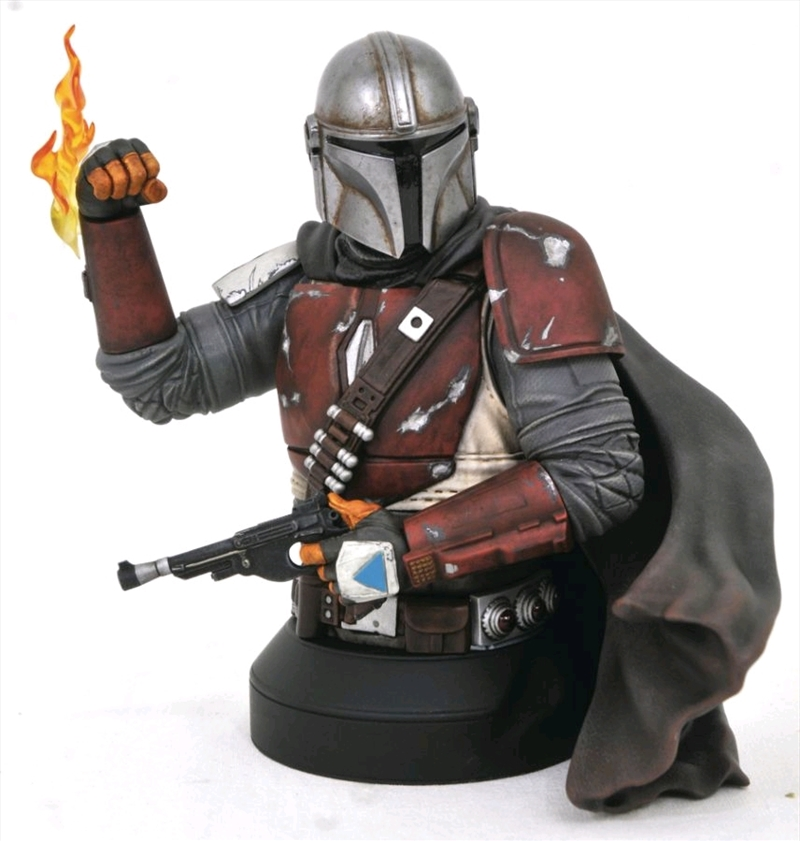 Star Wars: The Mandalorian - Mandalorian 1:6 Scale Bust   Merchandise