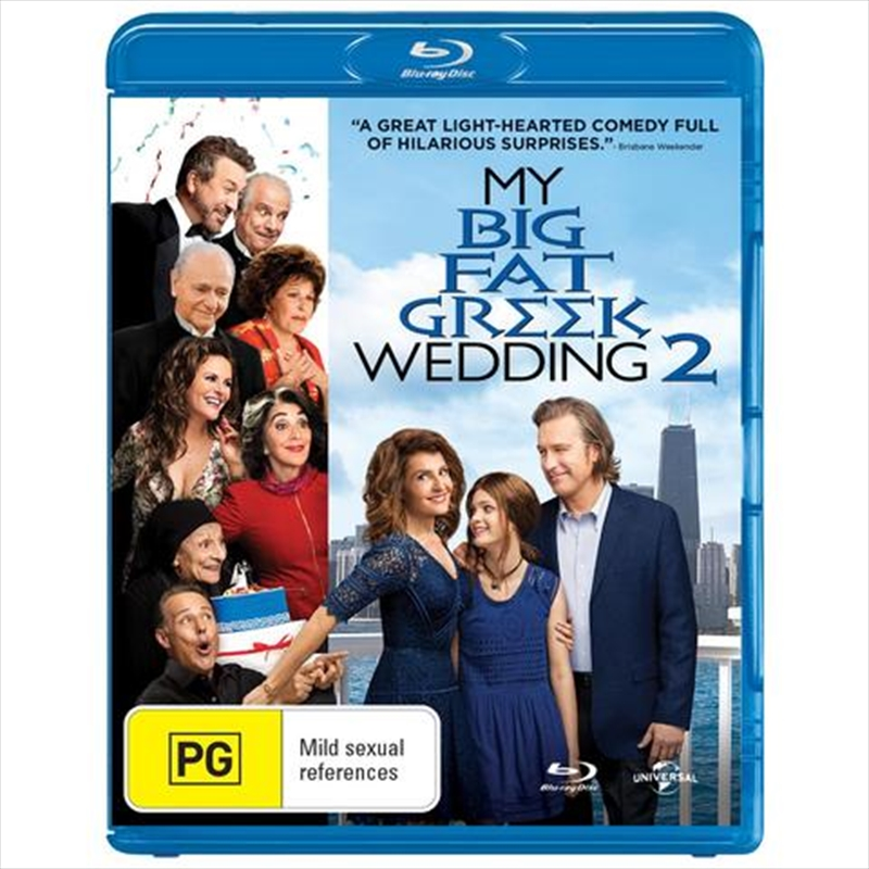 My Big Fat Greek Wedding 2 | Blu-ray