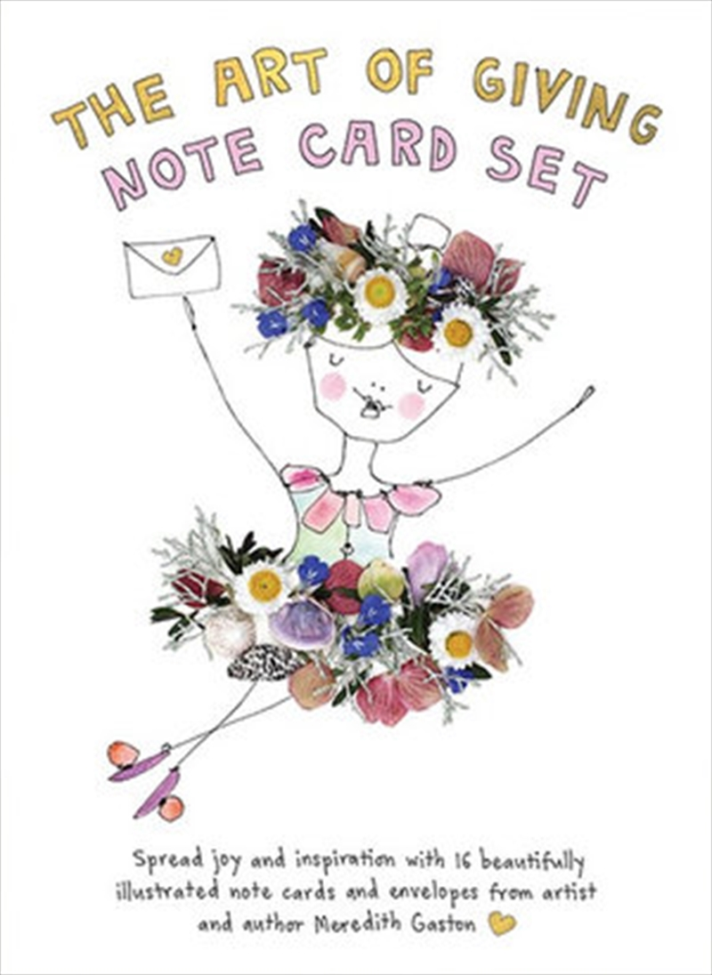 Art Of Giving Note Card Set | Merchandise