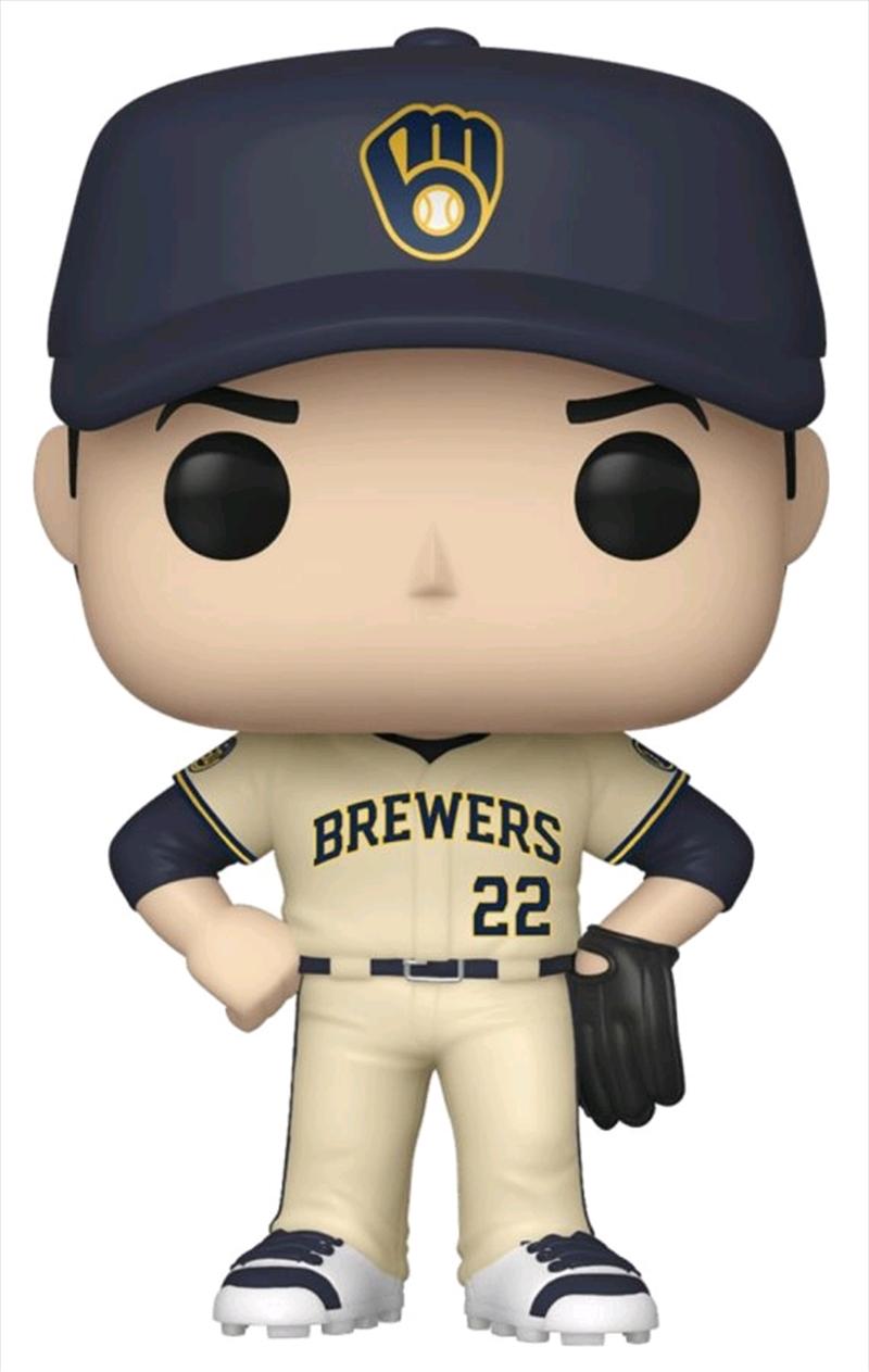 Major League Baseball: Brewers - Christian Yelich Pop! Vinyl | Pop Vinyl
