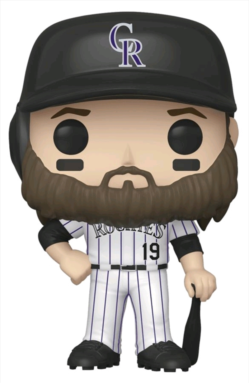 Major League Baseball: Rockies - Charlie Blackmon Pop! Vinyl | Pop Vinyl