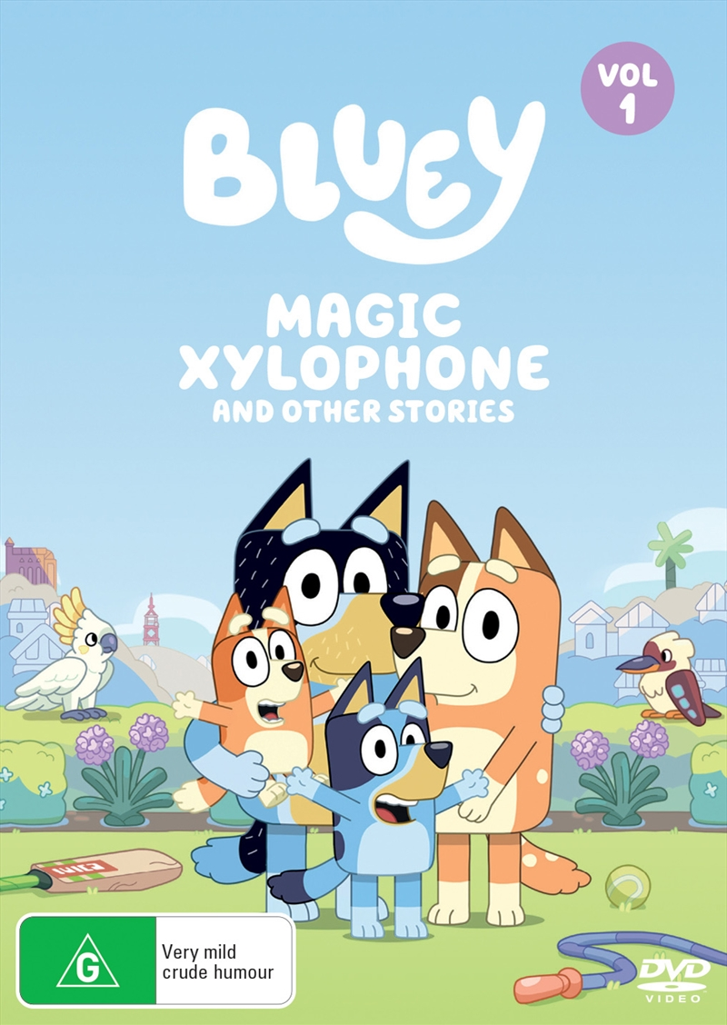 Bluey - Magic Xylophone And Other Stories - Vol 1 | DVD