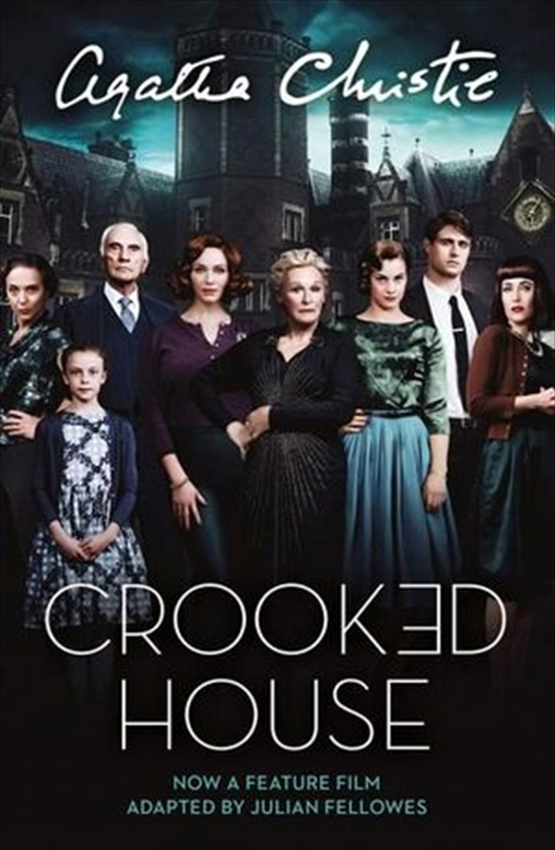 Crooked House [Film Tie-in Edition]   Paperback Book