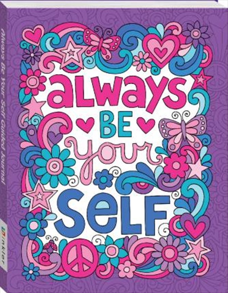 Always Be Yourself Guided Journal | Colouring Book