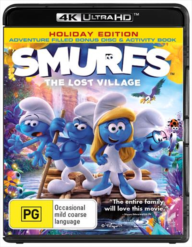Smurfs - The Lost Village | Blu-ray + UHD - Bonus Disc + Activity Book | UHD