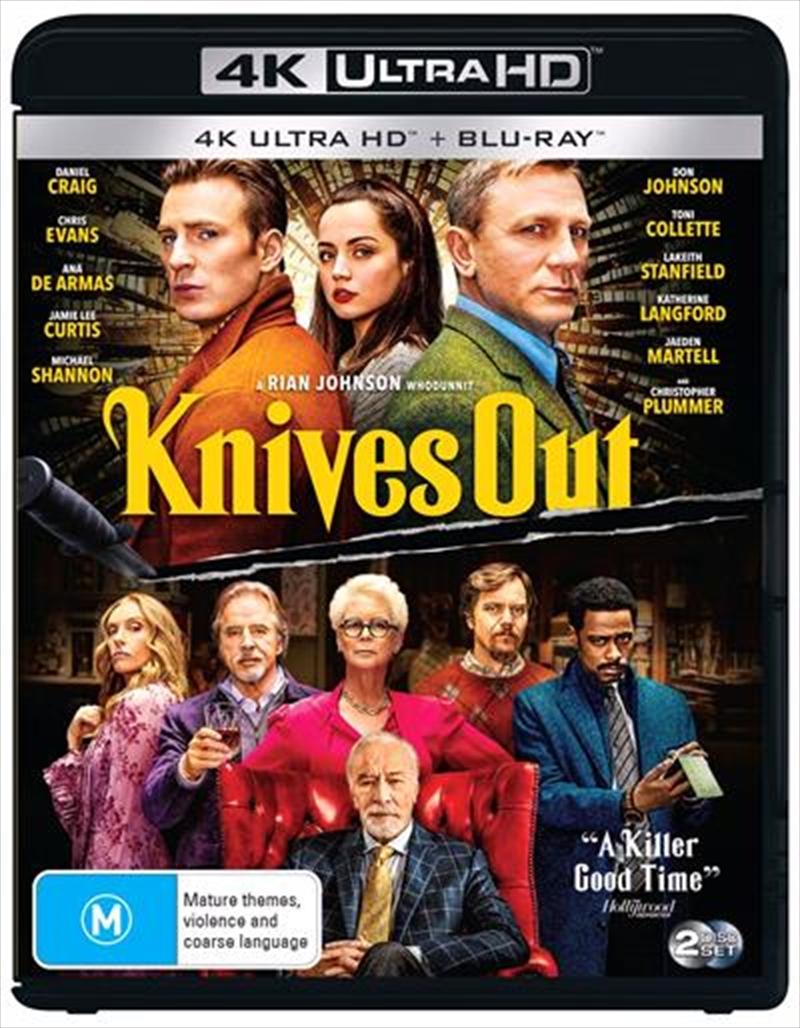 Knives Out | Blu-ray + UHD | UHD