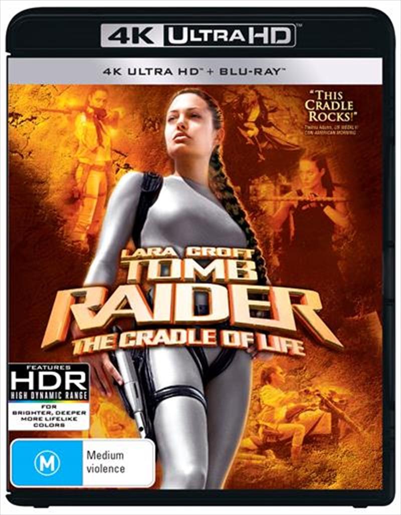 Lara Croft Tomb Raider 2 - The Cradle Of Life | Blu-ray + UHD | UHD