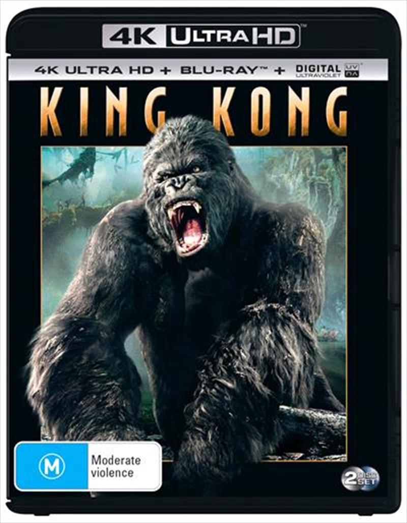 King Kong | Blu-ray + UHD + UV | UHD