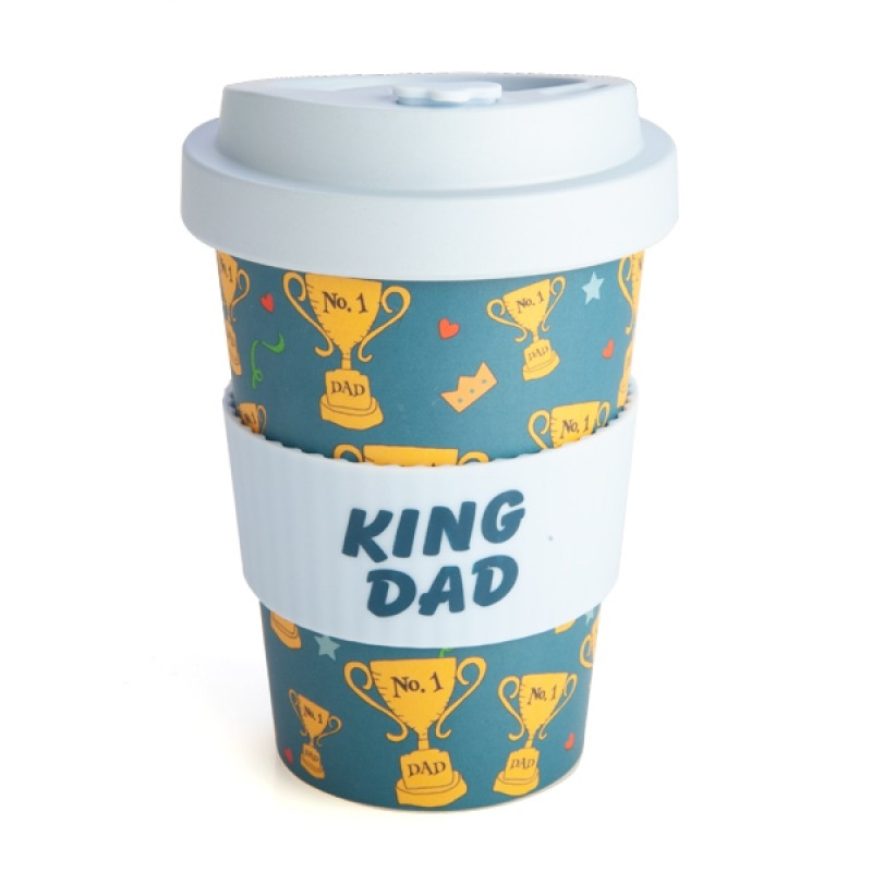 King Dad Eco-to-Go Bamboo Cup | Merchandise