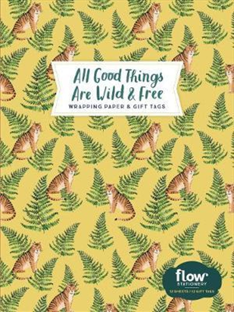 All Good Things Are Wild and Free Wrapping Paper and Gift Tags | Merchandise