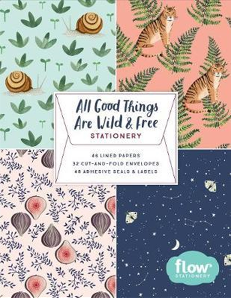 All Good Things Are Wild and Free - Stationery | Merchandise