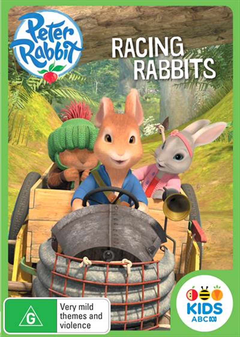 Peter Rabbit - Racing Rabbits | DVD
