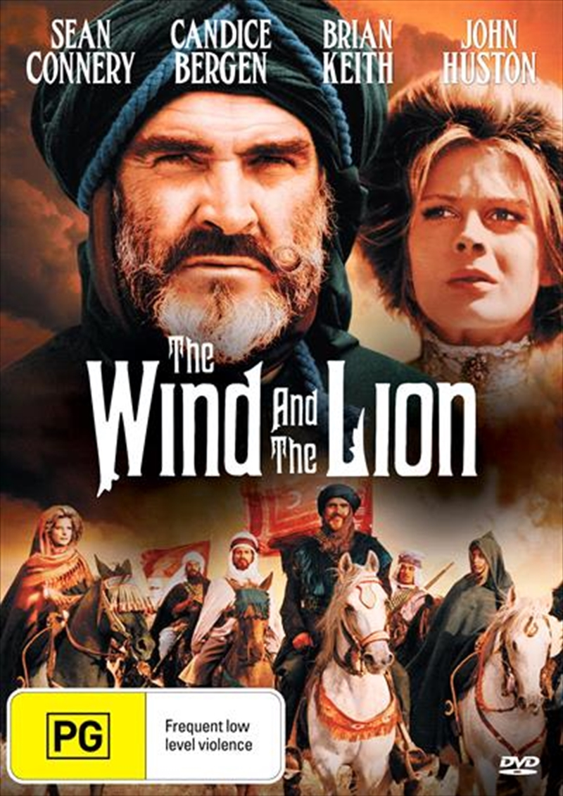 Wind And The Lion, The | DVD