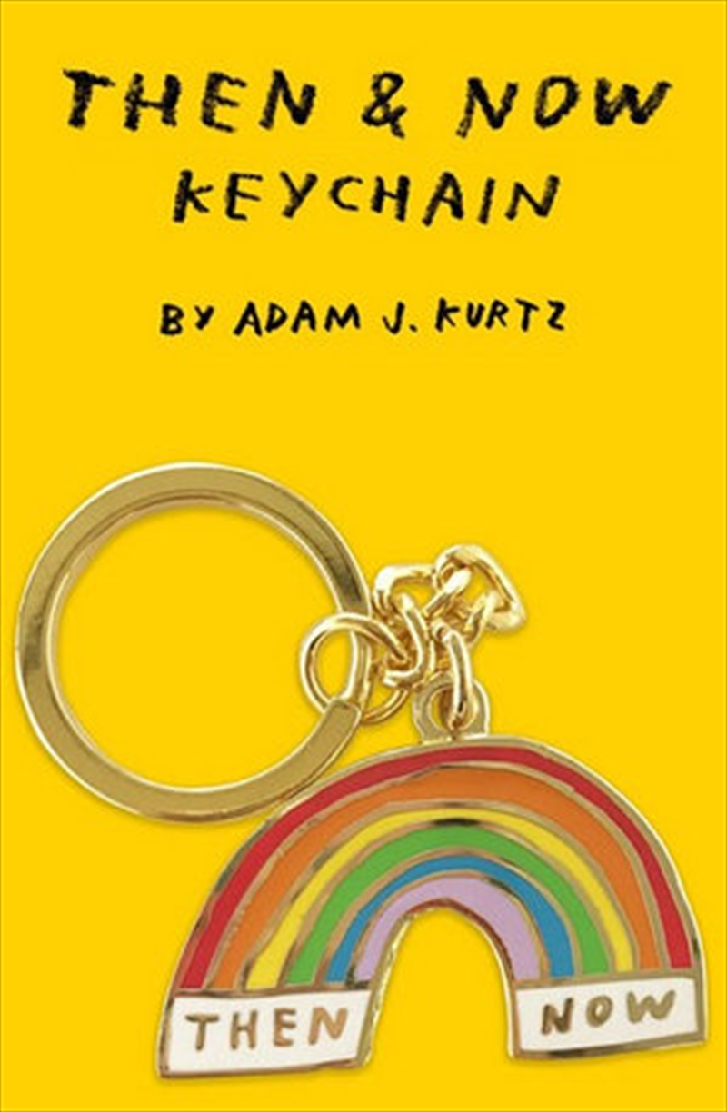 Then And Now Keychain | Accessories