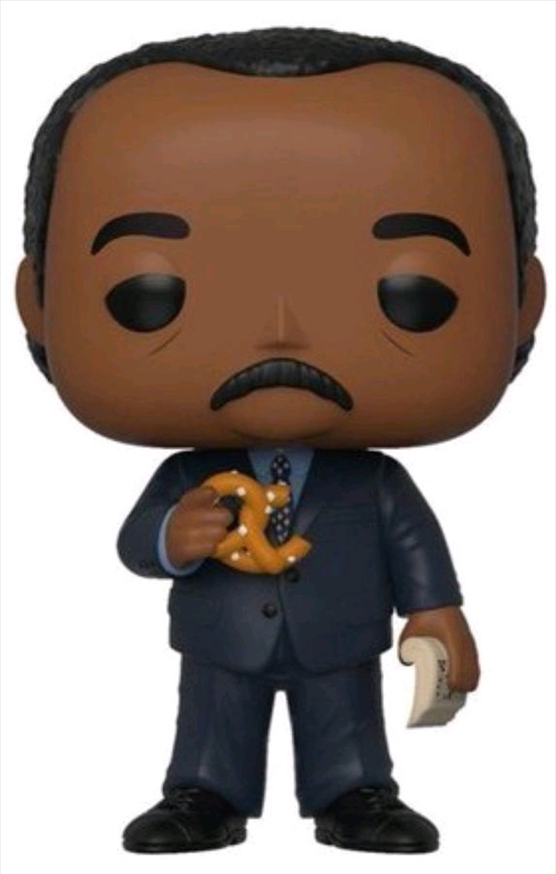 The Office - Stanley Huson with Pretzel US Exclusive Pop! Vinyl [RS] | Pop Vinyl