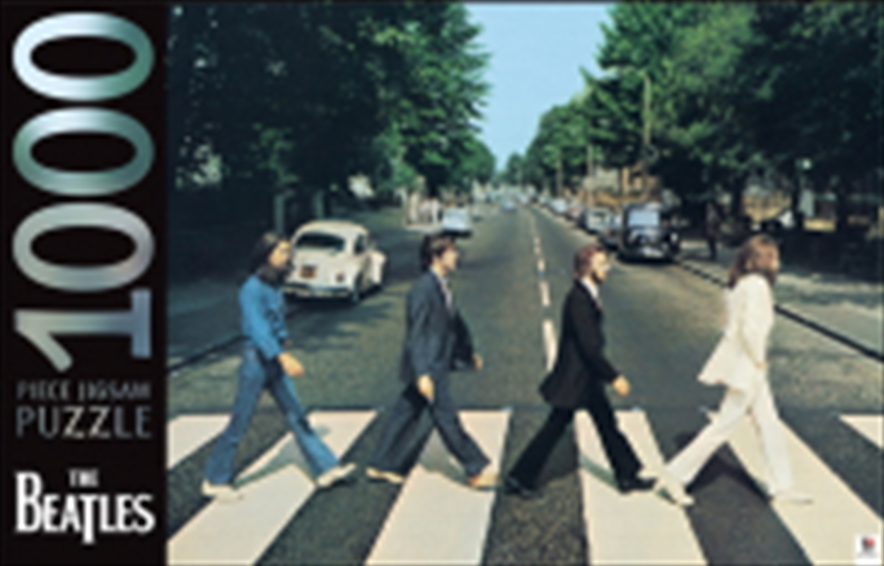 Abbey Road The Beatles 1000 Piece Puzzle | Merchandise