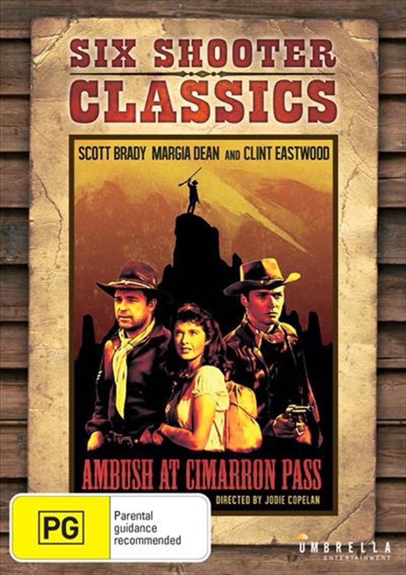 Ambush At Cimarron Pass | Six Shooter Classics | DVD