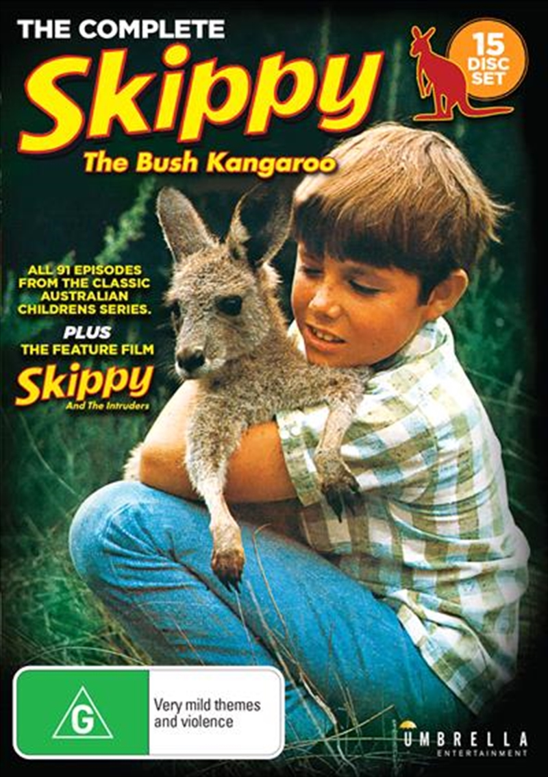 Skippy And The Intruders / Skippy The Bush Kangaroo   Complete Series   DVD