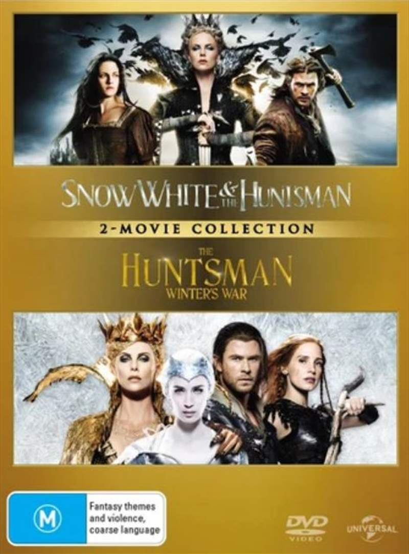 Snow White and The Huntsman / The Huntsman - Winter's War | DVD