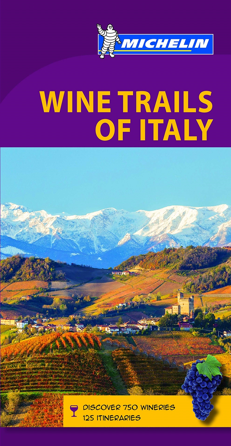 Wine Regions of Italy Michelin Green Guide   Paperback Book