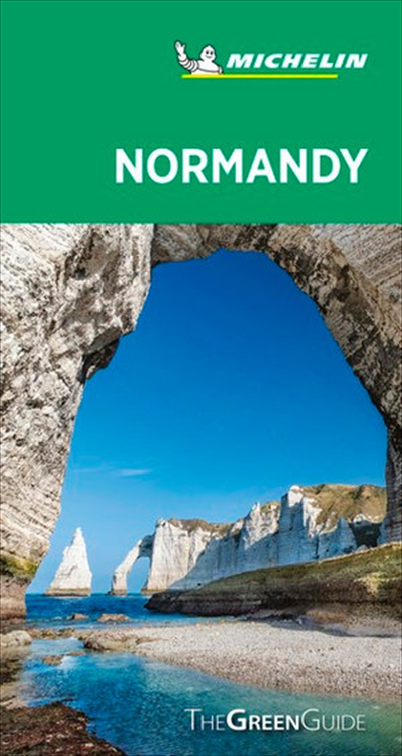 Normandy Michelin Green Guide | Paperback Book