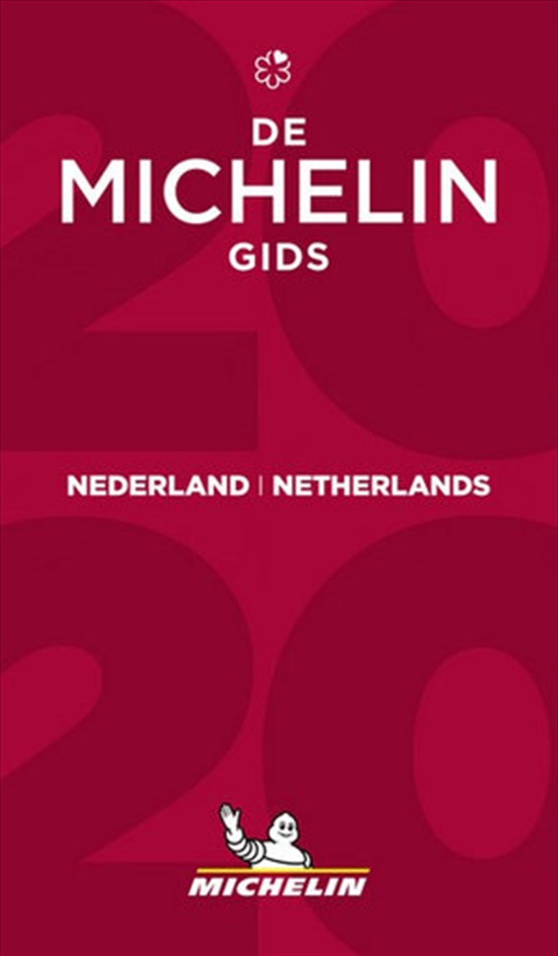 Nederland 2020 The Michelin Red Restaurant & Hotel Guide | Paperback Book