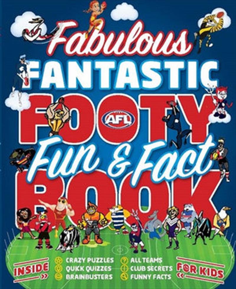 Fabulous Fantastic Footy Fun & Fact Book | Paperback Book