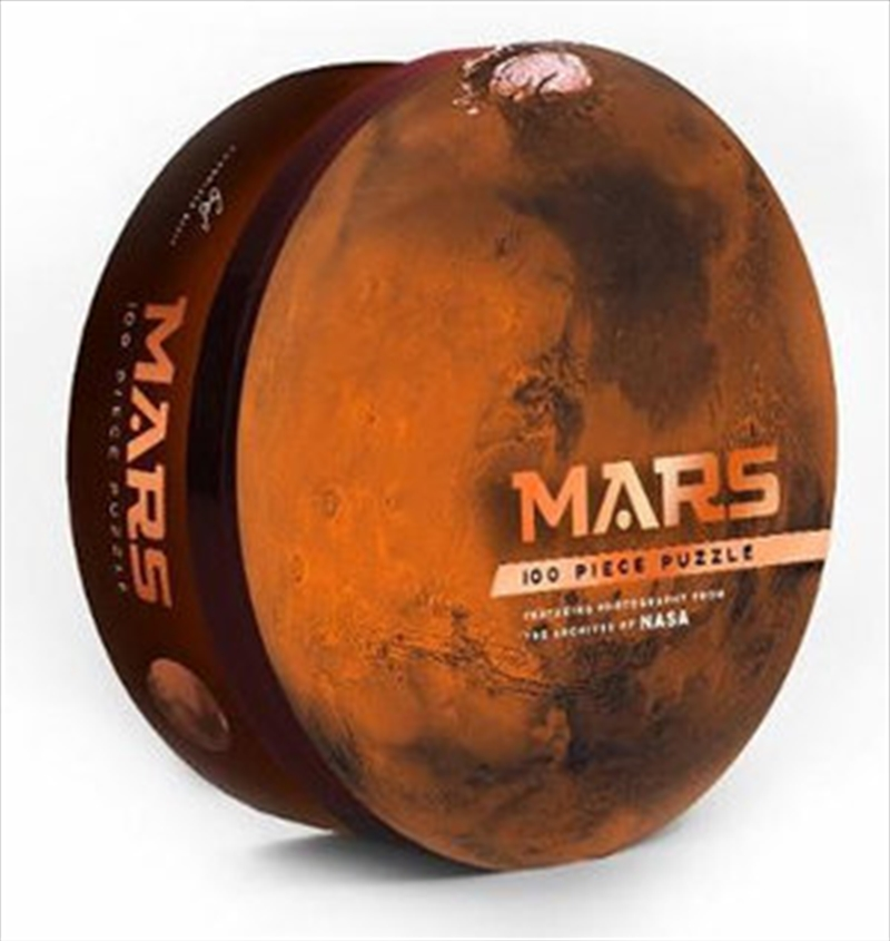Mars 100pc Puzzle - Featuring photography from the archives of NASA | Merchandise
