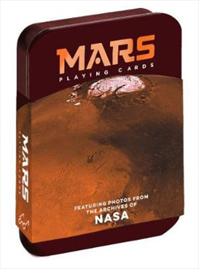 Mars Playing Cards - Featuring photos from the archives of NASA | Merchandise