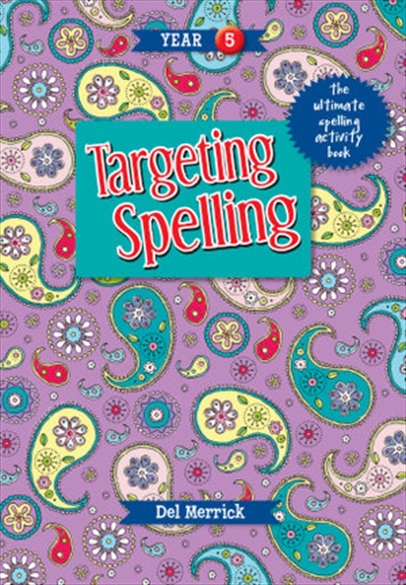 Targeting Spelling Activity Book Year 5 | Paperback Book