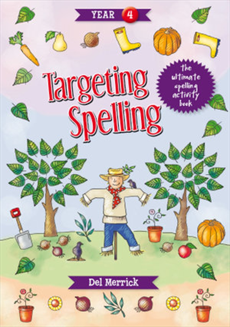 Targeting Spelling Activity Book Year 4 | Paperback Book