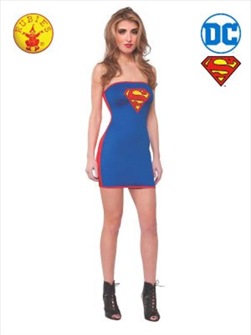 Supergirl Tube Dress: Size Medium | Apparel