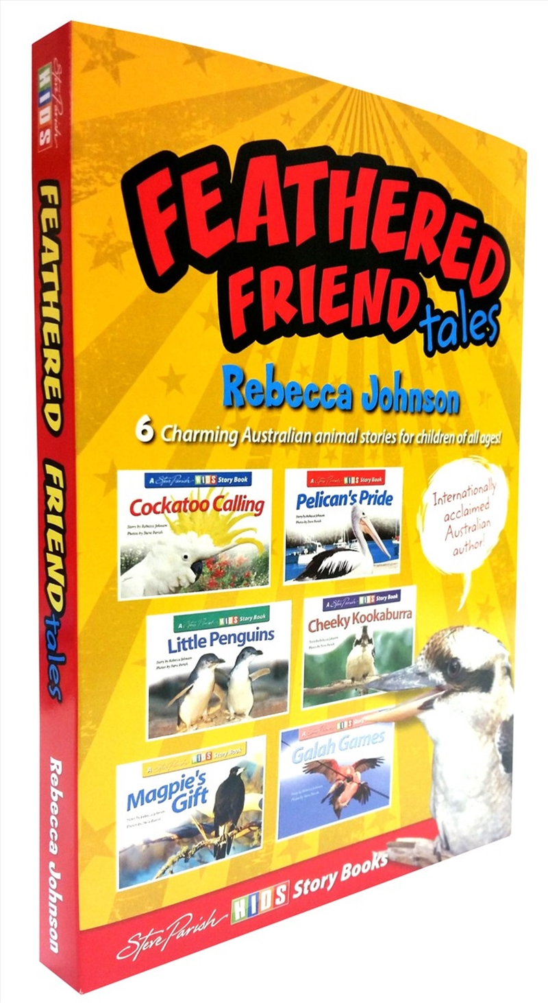 Steve Parish Story Book Slipcase: Feathered Friend Tales | Paperback Book