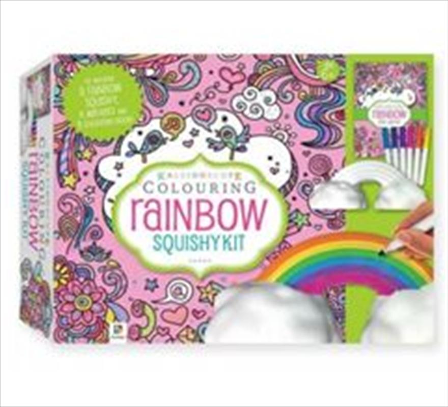 Rainbow Squishy Kit | Hardback Book