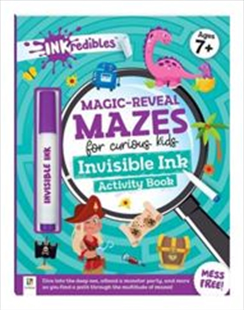 Magic Reveal Mazes Invisible I | Paperback Book