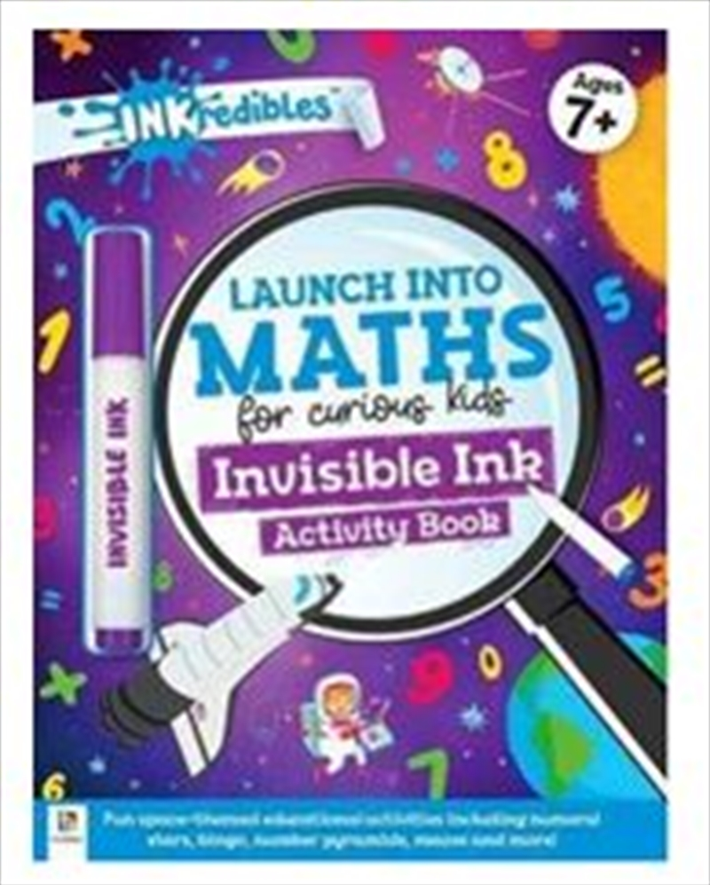 Launch Into Maths Invisible In | Paperback Book