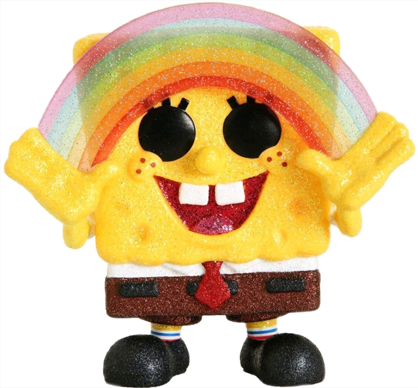 SpongeBob SquarePants - SpongeBob with Rainbow Diamond Glitter Pop! RS | Pop Vinyl