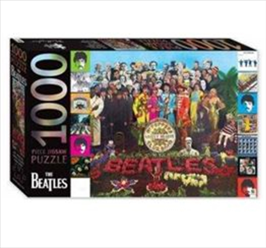 Sgt Peppers Lonely Hearts Club 1000 Piece Puzzle | Merchandise