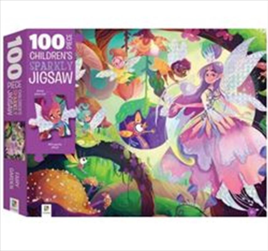 Fairy Garden: Sparkly 100 Piece Jigsaw Puzzle | Merchandise