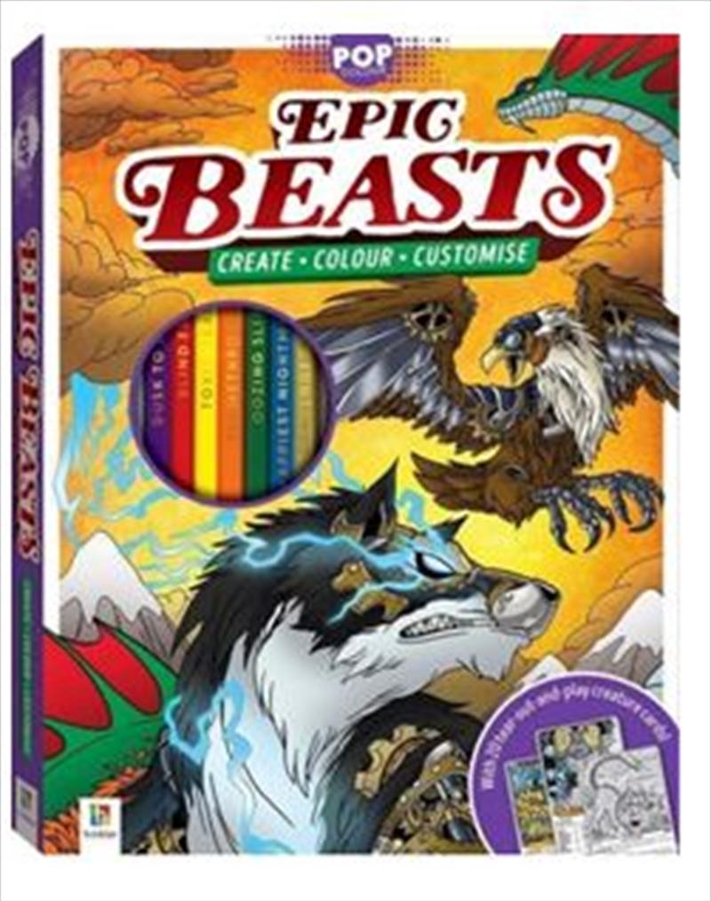 Epic Beasts | Hardback Book