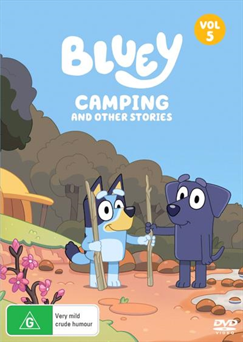 Bluey - Camping And Other Stories - Vol 5 | DVD