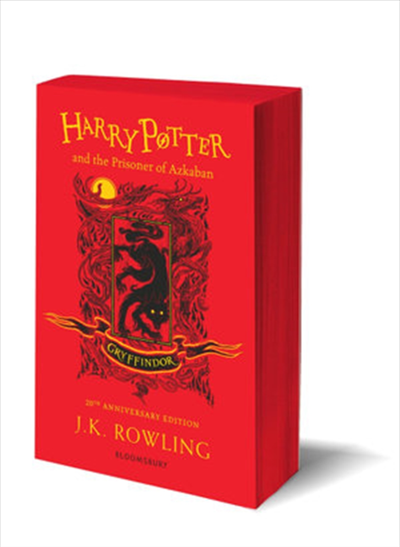 Harry Potter and the Prisoner of Azkaban - Gryffindoor Edition | Paperback Book
