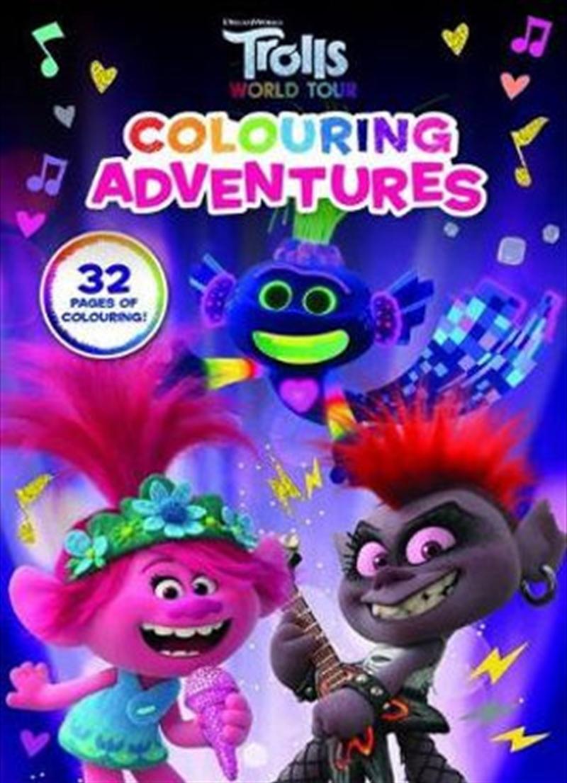DreamWorks Trolls World Tour: Colouring Adventures | Paperback Book
