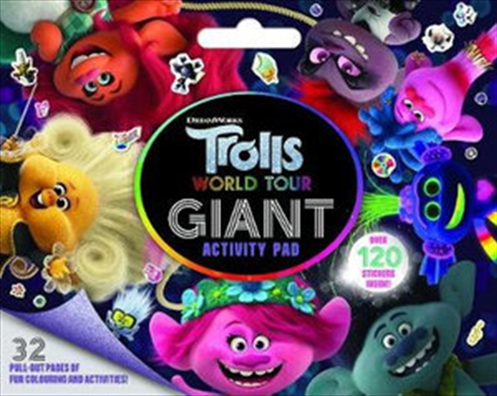 Trolls World Tour Giant Activity Pad | Paperback Book