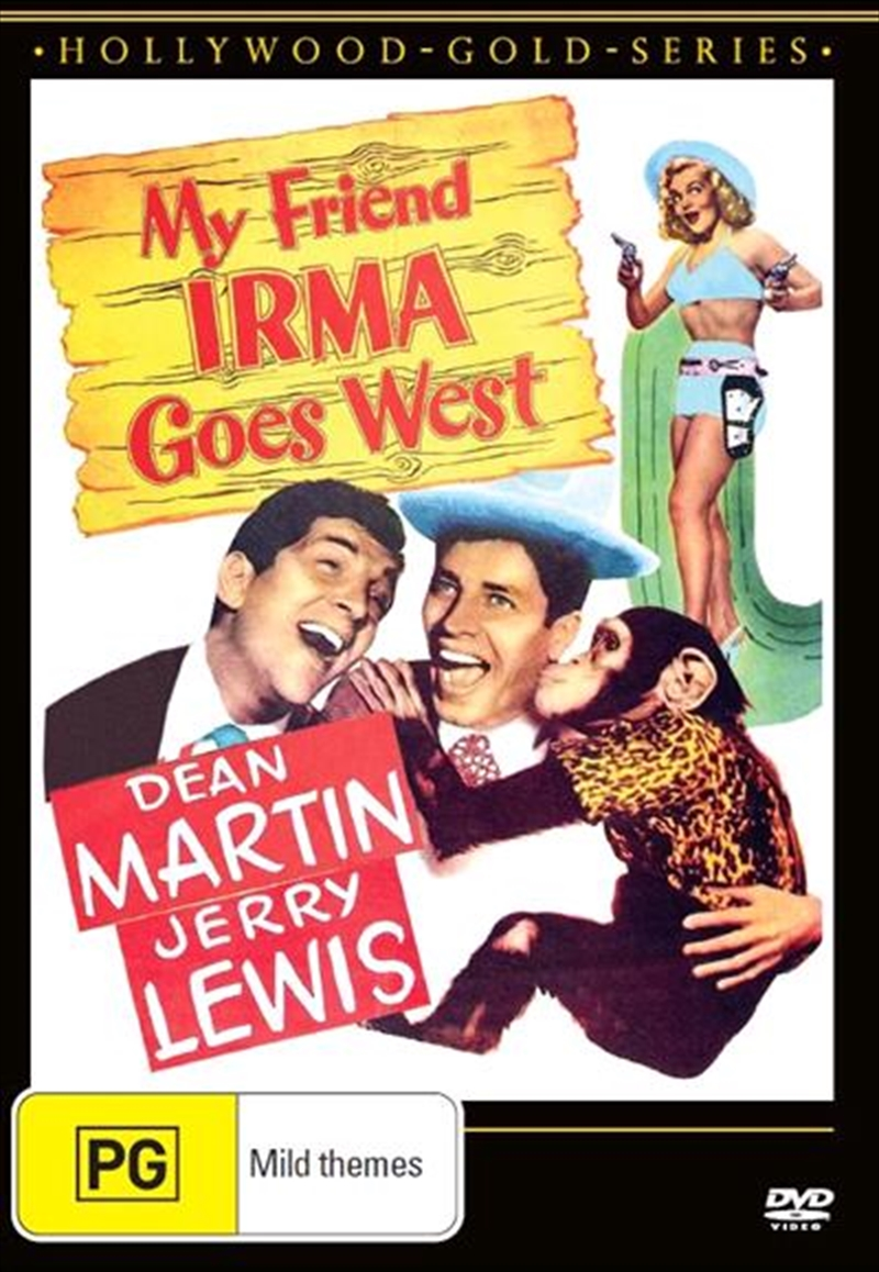 My Friend Irma Goes West | Hollywood Gold | DVD
