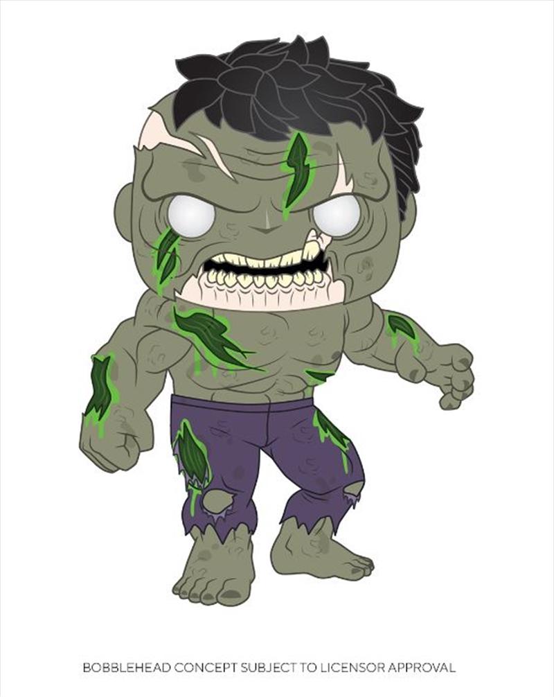 Marvel Zombies - Hulk Pop!   Pop Vinyl